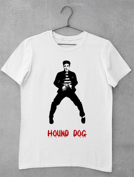 tricou elvis presley hound dog