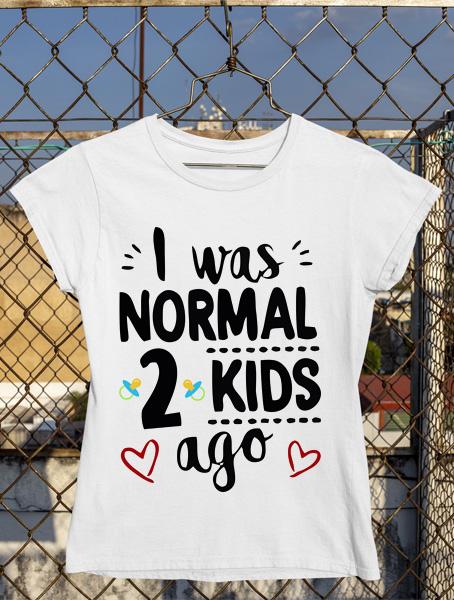 tricou gravida 2 kids ago