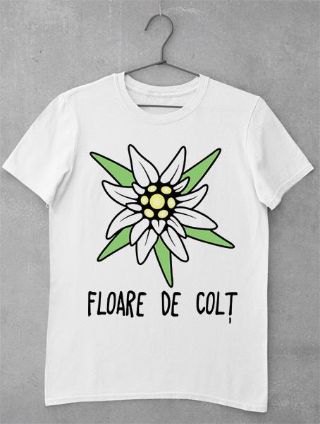 tricou floare de colt