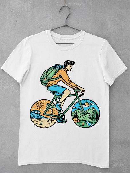 tricou bike trip nature