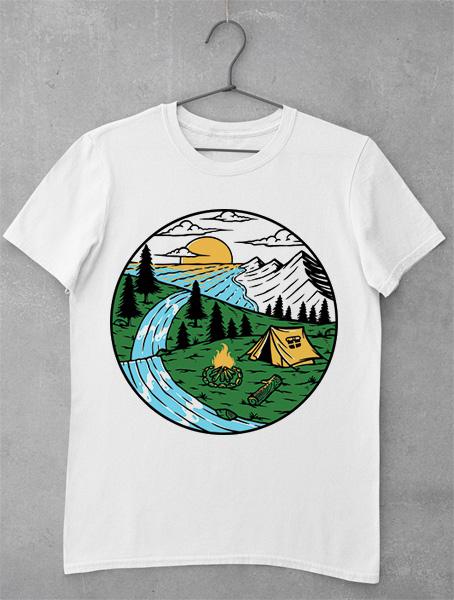 tricou full nature