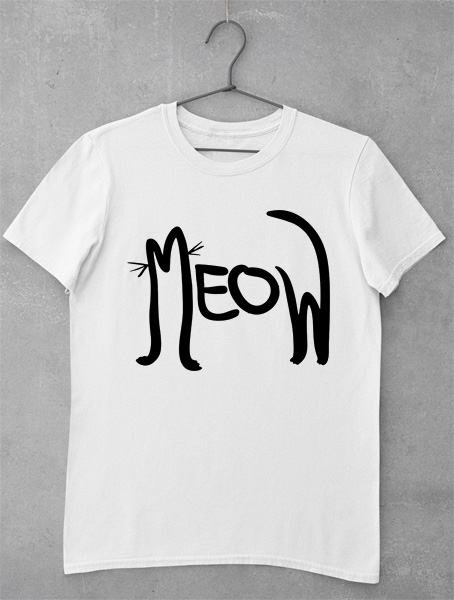 tricou meow