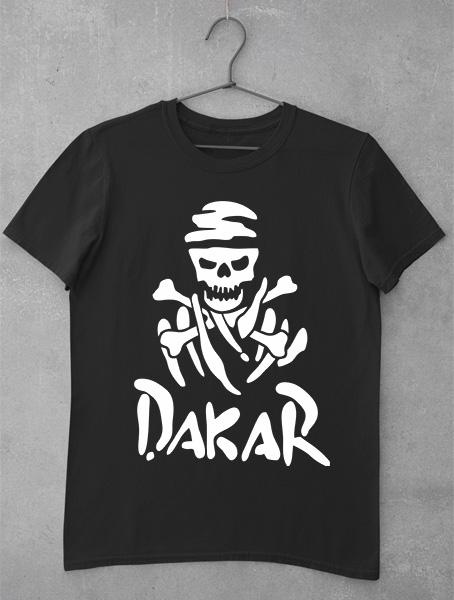 Tricou Dakar Black