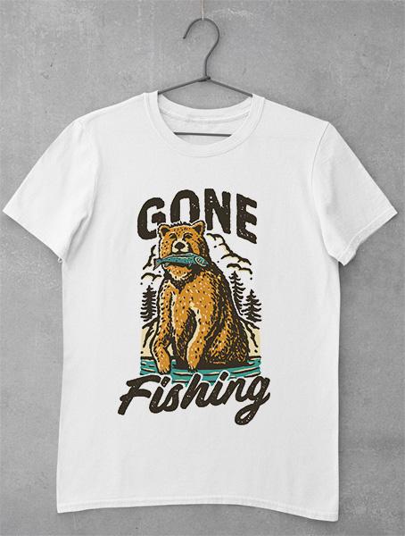 Tricou Gone Fishing