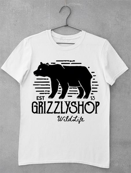 Tricou GrizzlyShop Wild Life